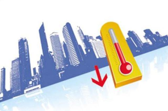 """津城昨天出现""""垮塌式""""降温 周末恢复到7℃左右"""