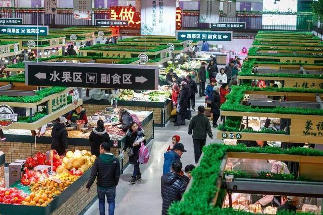 河北区菜市场精简为14家 七成达到国家标准