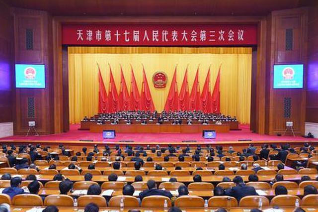 市十七届人大三次会议 关于天津市人民检察院工作报告的决议