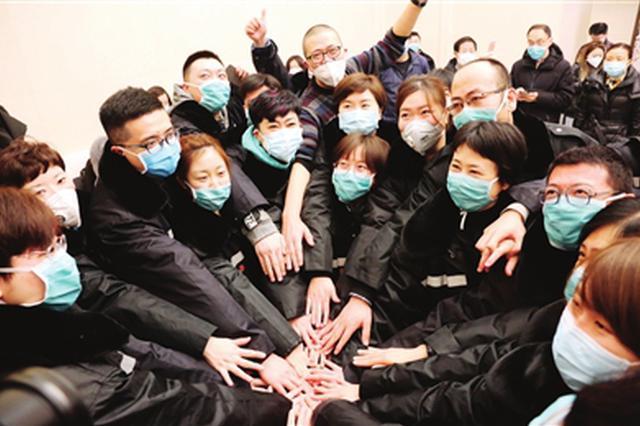天津第六批医疗队出发支援湖北