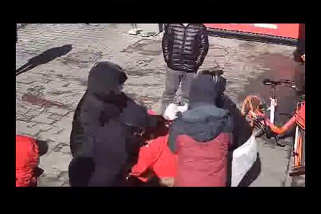 天津一姐姐辱骂殴打防疫人员!拘了!