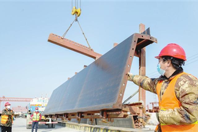"""京津冀""""动脉""""津石高速天津东段等一批工程复工 交通建设吹响"""