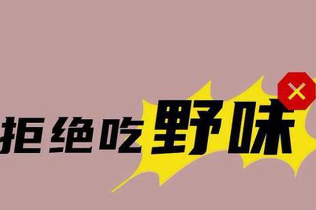 野生动物管理 天津再出新规!