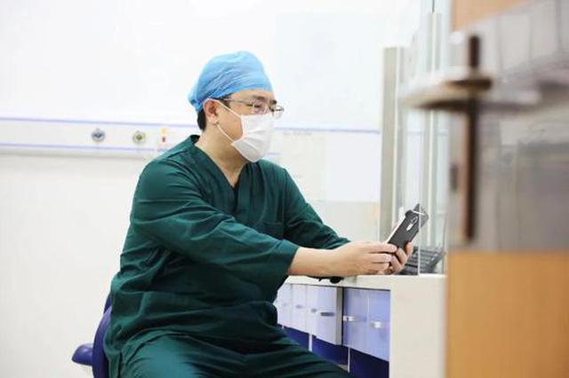 """在武汉的她和在海河医院的他 """"我们并肩作战"""""""
