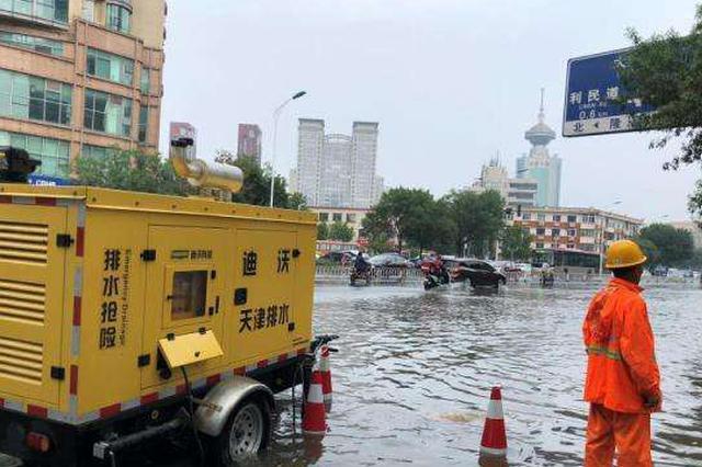 天津中心城区积水片改造工程全面复工
