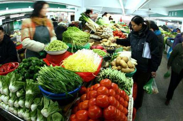 天津三大批发市场全面复工:果蔬供应充足 呈现价格走低