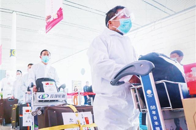 天津机场服务中建八局援外团队顺利出行
