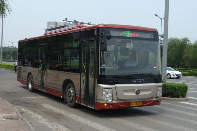 天津4条公交线路调整 方便市民出行