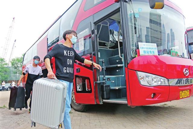 天津市多所高校毕业年级学生分期分批有序返校