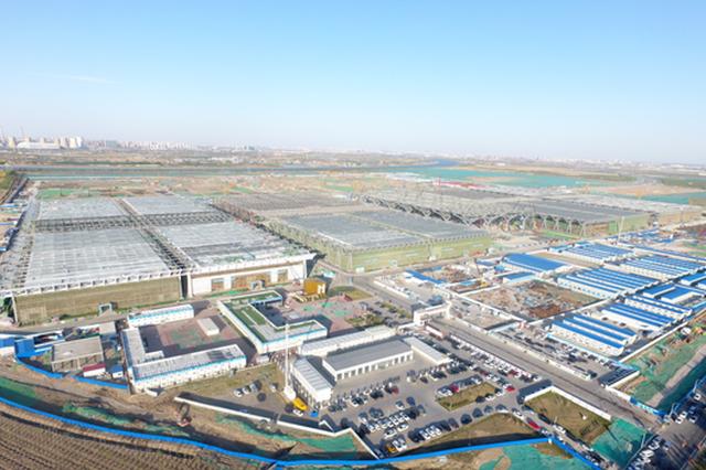 国家会展中心(天津)一期主体完工 锋芒初露