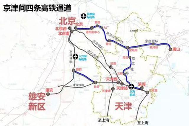 天津将新添两条高铁线