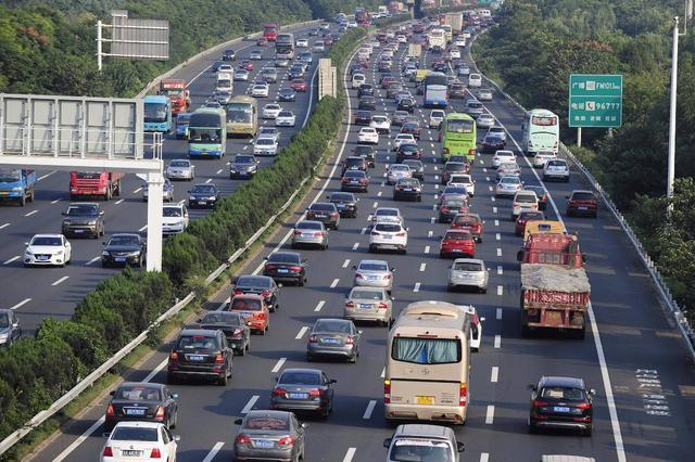 返程高峰天津高速公路日流量超140万辆次