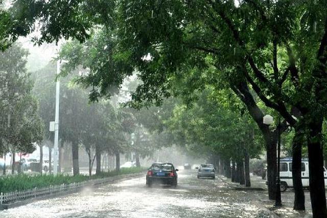 天津部分路段进行管制 雨天行车减速慢行