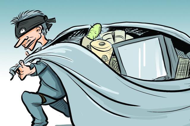 一男子联手前妻 盗窃农用车电瓶