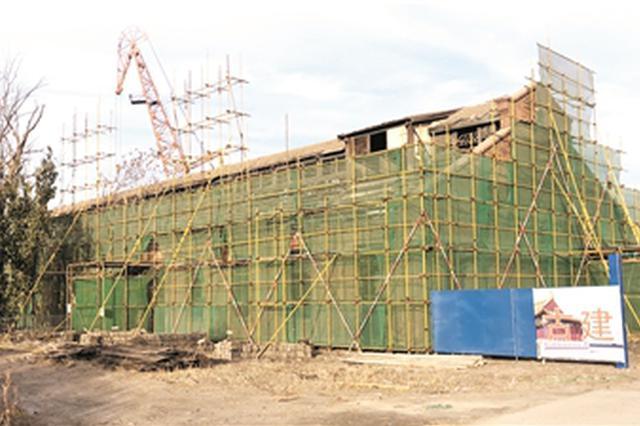 大沽船坞遗址轮机厂房修缮