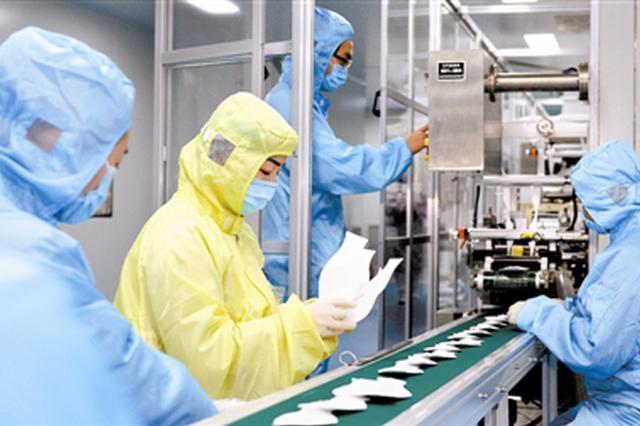 天津应对防控需求 保障口罩生产