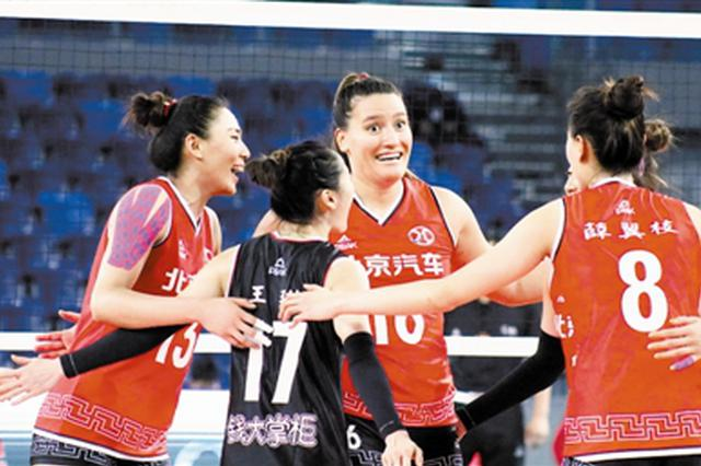 女排联赛外援人数升至5人 北京女排外援迪克森正式亮相