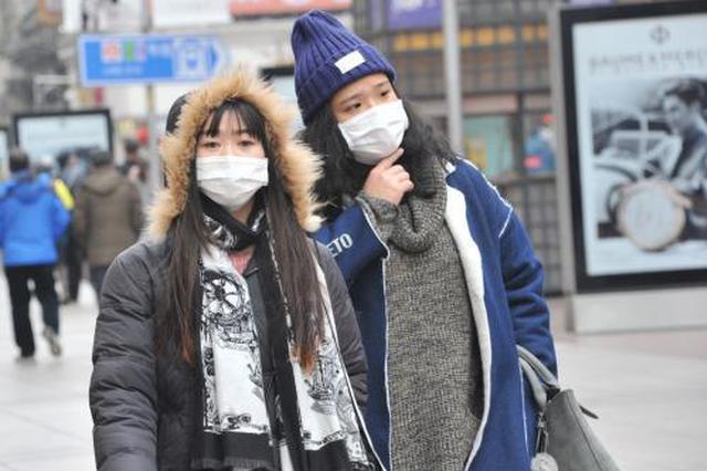 津城今起气温骤降 明天最高5℃