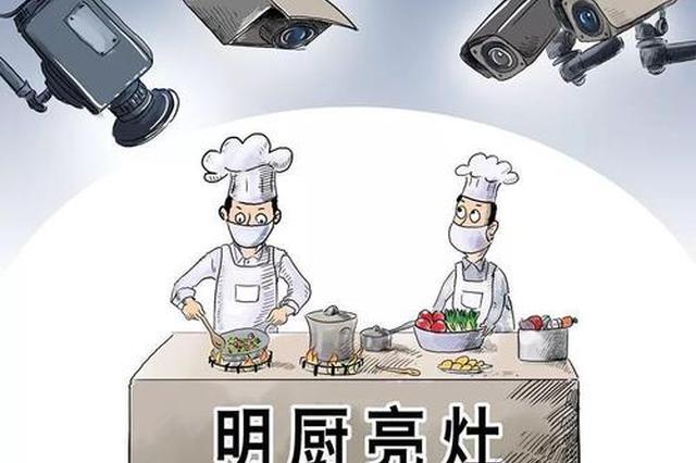 """""""互联网+明厨亮灶"""" 校外供餐单位6月底前全覆盖"""