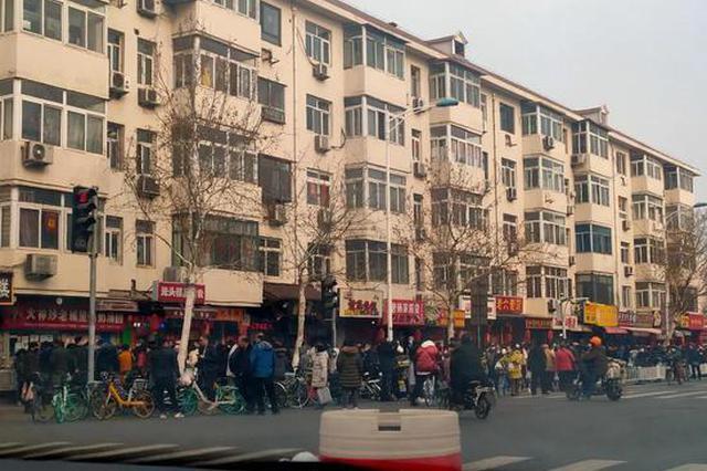 """""""排""""场太大!天津人为它把马路都站满了……"""