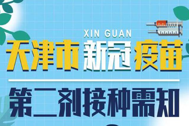 新冠疫苗第二针能打了吗?天津市内六区最新通知!