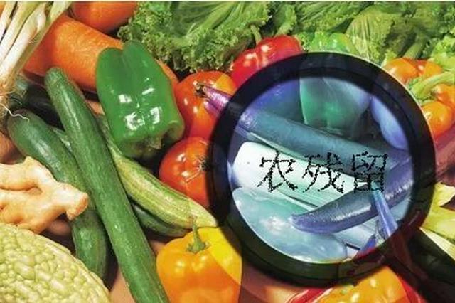 农药残留超标 天津这批食品抽检不合格