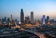 瞭望天津城市的边界