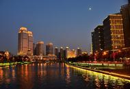 漫步海河感受天津之夜