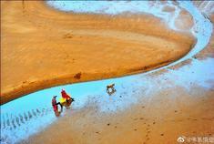 霞浦滩涂摄影者的天堂