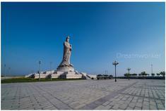 滨海新区妈祖文化园塑像