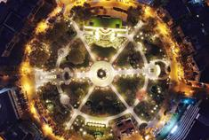中心公园的美丽蜕变