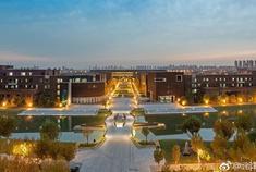 天津大学晚秋的色彩