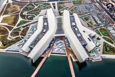 俯瞰滨海新区新风景