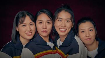 中国女排四位90后演员写真曝光