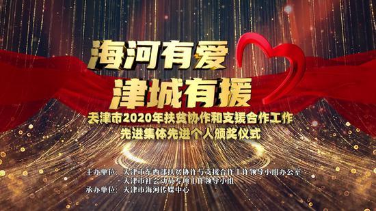 """新浪天津荣获""""天津市2020年扶贫协作和支援合作工作先进集体""""荣誉称号"""