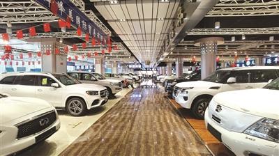 森扬国际汽车城记者 王鼎鑫 杜潇扬 摄