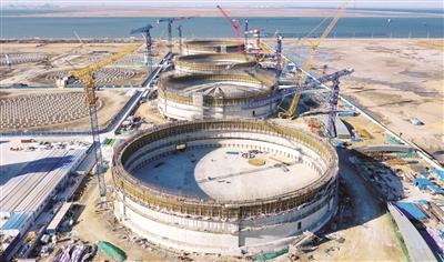 北京燃气天津LNG项目加快建设
