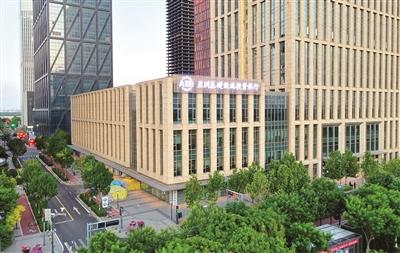 亚投行天津数据与综合业务基地外景 记者 贾成龙 摄