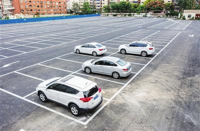 天津西湖道有了免费停车场