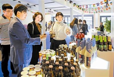天津全球商品贸易港展示中心在北辰区开放