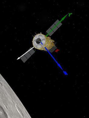 嫦娥五号进入近圆形环月轨道飞行