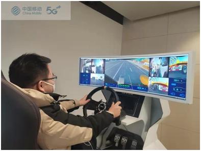 天津移动打造5G新基建项目助力天津港C段码头自动驾驶联调成功