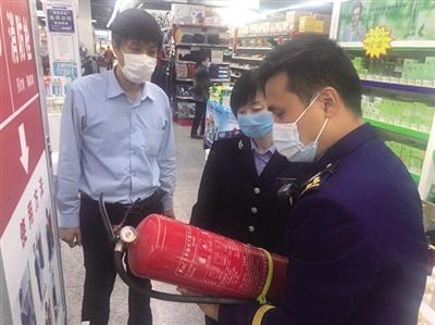 宝坻消防救援支队联合相关部门开展消防产品专项检查(图)