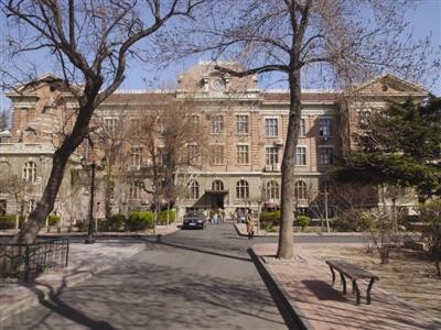 工商学院主楼旧址今昔对比