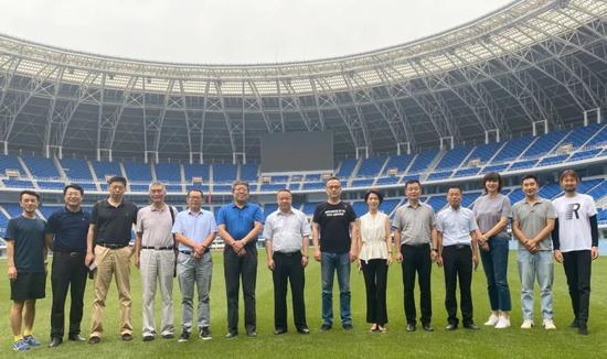 助力体育产业发展 南开大学天津校友会赴天津奥林匹克中心交流