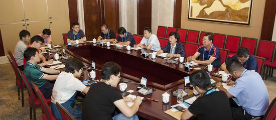 二青会天津代表团团部第一次工作会议在太原召开