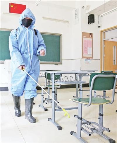 复课开学准备好了吗?──记者走进第五中学