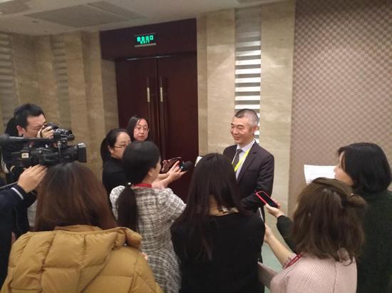 浦发银行总行交易银行部总经理 杨斌