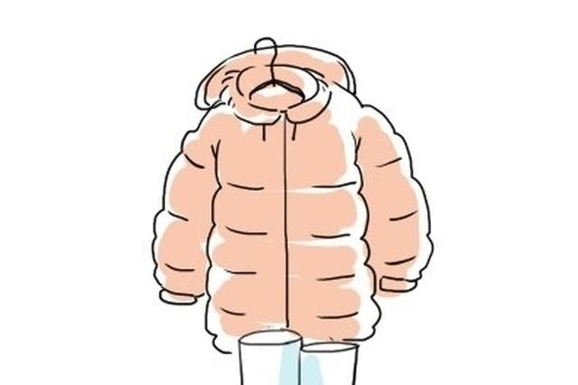 今冬电视剧爆款外套销售量大 短款羽绒服热火爆