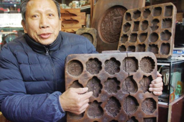 """天津老人收藏数百件面食模具 当年属于""""奢侈品"""""""